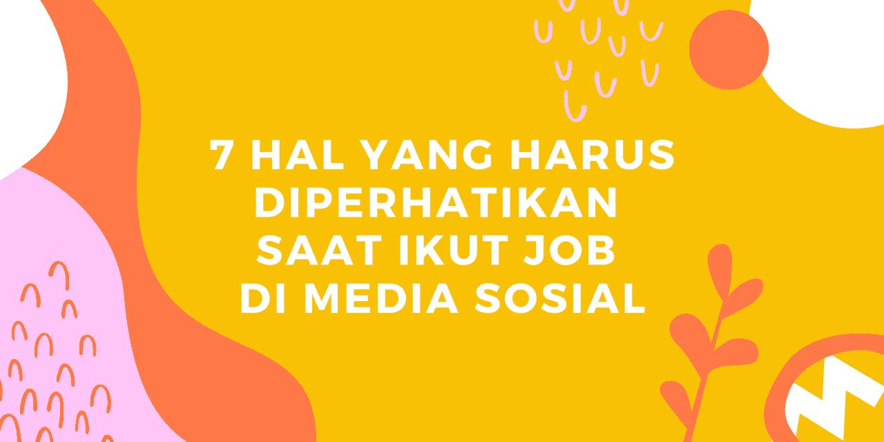 job di media sosial